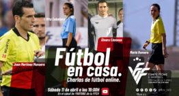 Los árbitros, a la palestra en el sexto 'Fútbol en Casa' FFCV este sábado a las 19h