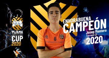 Josep Montero, jugador del Torrent CF, conquista la I Pijama Cup de la FFCV tras una espectacular remontada