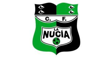 CF La Nucía cambia el color de su escudo en homenaje a la lucha contra el Covid-19