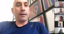 Rubiales informa a la FFCV y sus equipos de Segunda B y Tercera sobre cómo terminará la 19-20