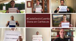 La RFEF se suma a la campaña de Cáritas #CadaGestoCuenta