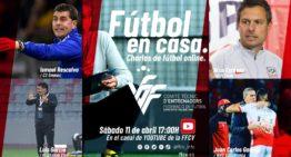 Entrenadores valencianos por el mundo en el quinto episodio de 'Fútbol En Casa' FFCV este sábado 11