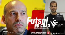 Tino Pérez e Iván Martí estarán en el duodécimo capítulo de 'Fútbol en Casa' FFCV este martes 28