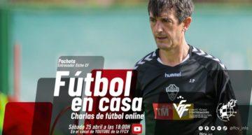 José Rojo 'Pacheta' será protagonista el sábado 25 de la undécima charla 'Fútbol en Casa' FFCV