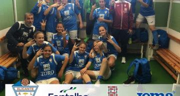 El CFI Alicante y la gran temporada de su equipo Cadete-Infantil femenino