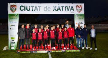 El Ciutat de Xàtiva presume de Alevín 'A' campeón de Liga