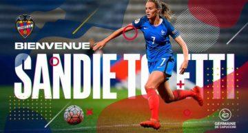 El Levante anuncia la incorporación de Sandie Toletti