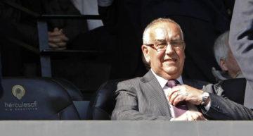 Terremoto en el Hércules: dimite (de nuevo) el presidente Quique Hernández