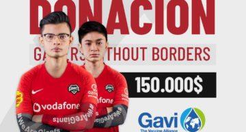 El torneo benéfico Gamers Without Borders donará 10 millones de dólares contra el COVID-19