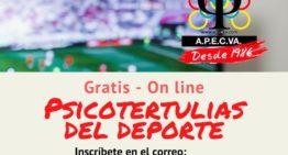 Charla gratuita APECVA: 'La psicología en el deporte femenino actual, a debate' (jueves 14 de mayo a las 18:30h)