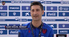 Juan Miguel Bernat (Levante UD): 'El miedo al Covid-19 pretende que tengas cuidado y extremes las precauciones'