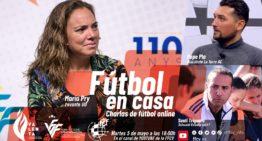 Los técnicos María Pry, Pepe Plá y Santi Triguero, protagonistas de 'Fútbol En Casa' FFCV el 5 de mayo