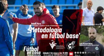 Rubén Mora, Luis Vicente Mateo y Pepe Hurtado estarán en el decimotercer 'Fútbol en Casa' FFCV