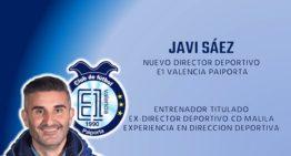 El E1 Valencia anuncia a Javi Sáez como nuevo director deportivo