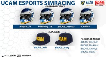 UCAM Esports Club y BROOS Garage unen sus fuerzas para competir en Gran Turismo Sport