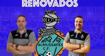 Almussafes CF mantiene la confianza en Ximo Garrido y Ángel Cabello para su dirección deportiva 2020-2021