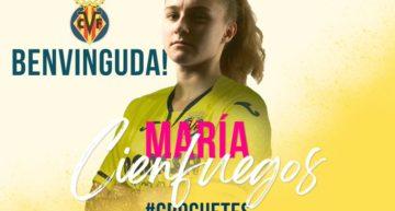 María Cienfuegos se convierte en el primer refuerzo oficial del Villarreal CF