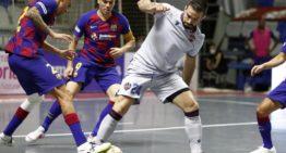 El LUD Fútbol Sala 'revienta' los playoffs tras una épica remontada ante el Barça (2-3)