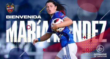 María Méndez firma por el Levante Femenino hasta 2023