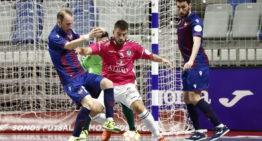 El Levante Futsal se quedó a las puertas de la final de la LNFS (2-5)
