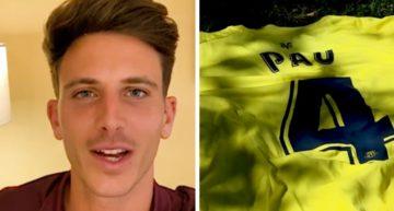 Así puedes participar en el sorteo FFCV de la camiseta de Pau Torres