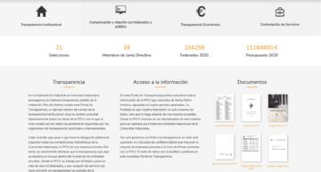 Portal de Transparencia: un proyecto pionero de la FFCV