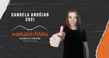 Candela Andújar llega cedida como segundo fichaje del VCF Femenino 20-21