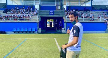 GALERÍA: Dani Parejo pasó la jornada con los chavales de su campus en San Antonio de Benagéber