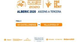 EN DIRECTO: UD Castellonense y Villajoyosa se disputan desde las 20:30h la última plaza en Tercera