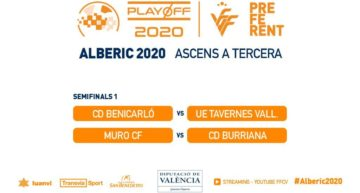 EN DIRECTO: Sigue aquí los partidos CD Benicarló vs UE Tavernes Valldigna y Muro CF vs CD Burriana
