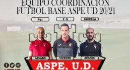 Aspe UD presenta a un equipo de coordinación 2020-2021 plagado de viejos conocidos