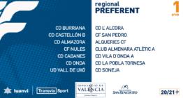 Estos son los 6 grupos oficiales de Regional Preferente FFCV para la temporada 2020-2021