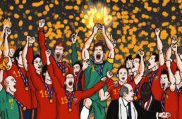 La Fundació Albinegra del CD Castelló rememora el Mundial 2010 con 'Requetecopa: Campeones del Mundo'