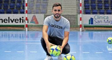 """Rafa Usín (Levante FS): """"Hay que soñar, pero despacio y poco a poco"""""""