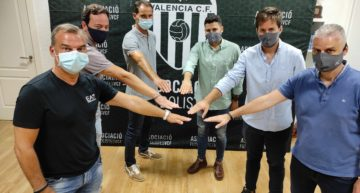 La Academia de Fútbol Sala del Valencia firma un convenio con el Alzira FS