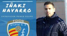 Iñaki Navarro se convierte en el nuevo entrenador del primer equipo del Foios Atlètic
