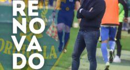 Gerard Albaladejo renueva como técnico del Orihuela