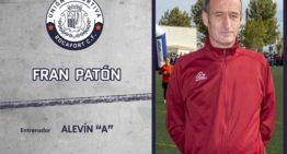 Fran Patón dirigirá al Alevín 'A' de la UD Rocafort CF