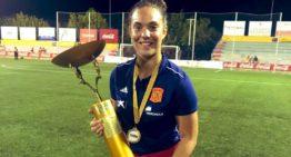"""María Valenzuela (Levante Femenino): """"Es un salto muy grande pasar a primera división"""""""