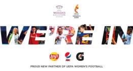 PepsiCo firma como patrocinador del Fútbol Femenino de la UEFA para los próximos cinco años