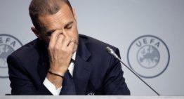 La UEFA decide suspender las competiciones juveniles de selecciones nacionales