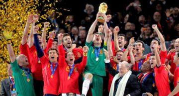 La selección española celebra sus 100 años de historia