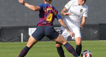Queda suspendido el amistoso entre FC Barcelona y VCF Femenino