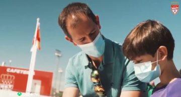 La Sociedad Española de Medicina sobre el Deporte se 'moja' sobre el uso de mascarilla durante los partidos de fútbol