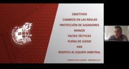 Así ha sido el encuentro online del Comité Técnico de Árbitros con la prensa valenciana