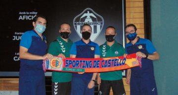 Acuerdo de colaboración entre Sporting de Castelló y la cantera del CD Castellón