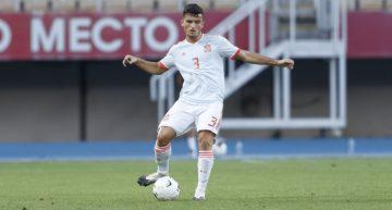El 'Tiburón' Guillamón debuta como pez en el agua con la Selección Española Sub-21
