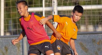Los equipos de fútbol-8 de la Academia VCF arrancan sus entrenamientos 2020-2021