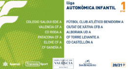 También confirmados los calendarios de competición de Liga Autonómica Infantil FFCV 2020-2021