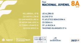 Confirmados los grupos valencianos de Liga Nacional Juvenil 20-21 tras los cuatro ascensos de última hora